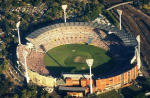 Aerial view of Melboure Cricket Ground
