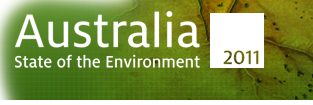 Logo of State of the Environment 2011; Photo by Andrew Griffiths, Lensaloft